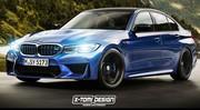 La BMW M3 aura 4 roues motrices