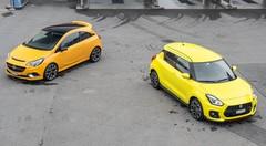 Duel Suzuki Swift Sport vs Opel Corsa GSi