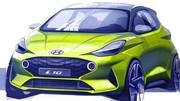 La Hyundai i10 pointe le bout du museau