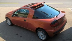 Marche arrière : L'Opel Tigra 1.6 16v