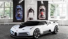 Bugatti Centodieci, hommage à l'EB110