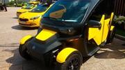 Kalachnikov UV-4 : une voiture électrique partagée