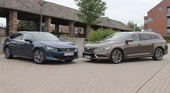 Essai Peugeot 508 SW 1.5 BlueHDI vs Renault Talisman Grandtour 1.7 Blue dCi : le fond ou la forme ?