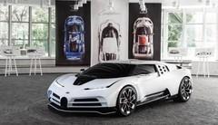 Bugatti Centodieci : un hommage moderne à la Bugatti EB110