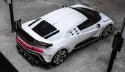 Bugatti Centodieci (2019) : 1 600 ch pour la Centodieci qui rend hommage à l'EB110