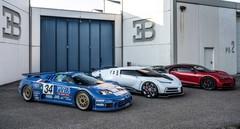 Bugatti Centodieci : cadeau d'anniversaire à 8 millions !