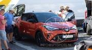 Toyota C-HR (2020) : la version restylée débusquée