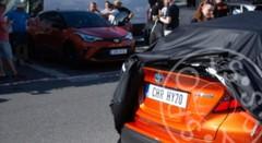 Le Toyota C-HR restylé se fait surprendre