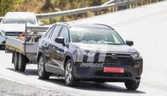 Toyota RAV4 hybride rechargeable : le RAV4 PHEV débusqué en Espagne