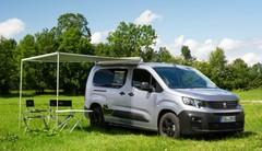 Peugeot Partner Alpin Camper : le Peugeot Rifter en mode camping-car