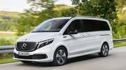 405 km d'autonomie pour le monospace électrique Mercedes EQV