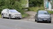Les futures Volkswagen ID.3 et ID.4 surprises aux côtés d'un Hyundai Kona électrique