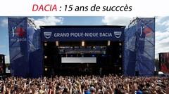 Dacia : 15 ans de succès et les futures Dacia