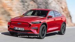 Le SUV électrique Ford Mach-E se montre