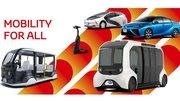 Toyota déploiera une importante flotte de véhicules électriques aux JO 2020
