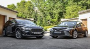 Essai Ford Mondeo SW Hybrid VS Toyota Camry : propositions uniques