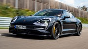 Essai du prototype de la Porsche Taycan