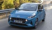 Hyundai i10 : nouvelle bouille