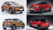 Match : le nouveau Nissan Juke 2 face au Renault Captur 2