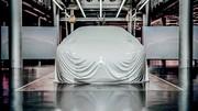 Premier teaser pour le concept Mercedes EQS de Francfort