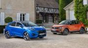 Ford Puma vs Volkswagen T-Roc : premier duel statique en vidéo