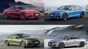 Audi A5 2019 : toutes les infos et photos de la famille A5 restylée