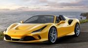 La Ferrari F8 Spider succède à la 488