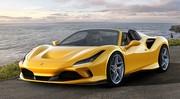 Ferrari F8 Spider : 720 ch et un V8 à ciel ouvert