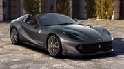 Ferrari 812 Superfast GTS (2020) : Le cabriolet le plus puissant