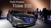 Mercedes Vision EQS : la limousine Classe S électrique