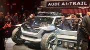 Audi AI:TRAIL quattro. A bord du concept de buggy électrique Audi