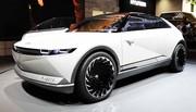 Hyundai 45 : du néo-rétro électrique à Francfort
