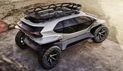 Audi AI:Trail Quattro : un 4 x 4 aux codes lunaires