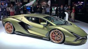 Salon de Francfort 2019 : présentation de la Lamborghini Sian