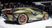 Francfort 2019: Lamborghini Sian