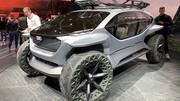 Audi AI:Trail Quattro concept, la surprise tout-terrain de Francfort 2019