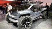 Présentation des concepts-cars du stand Audi