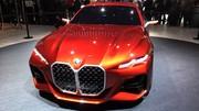 La BMW Concept 4 présentée au Salon de Francfort 2019