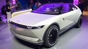 Présentation du concept Hyundai 45