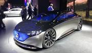 Présentation de la Mercedes EQS