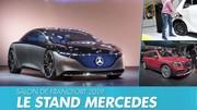 Top Mercedes : visite guidée du stand Mercedes