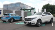 Essai Mercedes EQC 400 vs Audi e-tron 55 : rencontre haute tension !