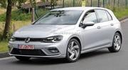 La future Volkswagen Golf 8 encore moins camouflée