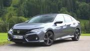 Essai Honda Civic X 1 litre CVT : sur la route des vacances