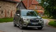 Essai Subaru Forester e-Boxer : hybride, mais pas assez