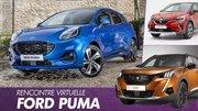 Ford Puma vs Peugeot 2008 vs Renault Captur : premier match en vidéo