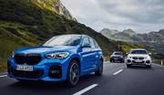 Commandes ouvertes pour la BMW X1 xDrive25e plug-in hybrid