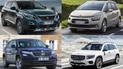 Guide : toutes les voitures 7-places du marché français