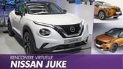 Nissan Juke vs Peugeot 2008 et Renault Captur : premier match en vidéo