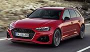Audi RS4 Avant : un nouveau visage